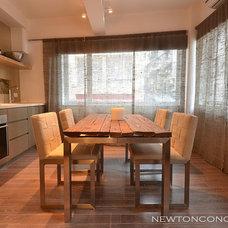 Contemporary Kitchen by Newton Concepts Furniture & Interior Design