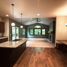 Traditional Kitchen by Rautmann Custom Homes