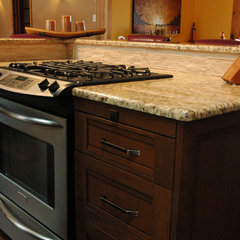 traditional kitchen by Elaine M. Rushlow C.K.D.