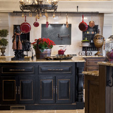 mediterranean kitchen by Rick Hoge