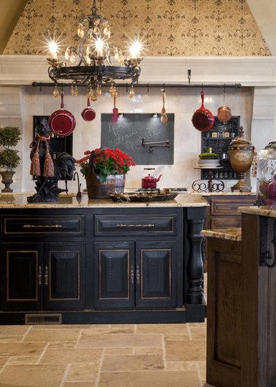 Mediterranean Kitchen by Rick Hoge