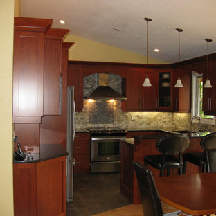 Galant, Cherry Cabinetry