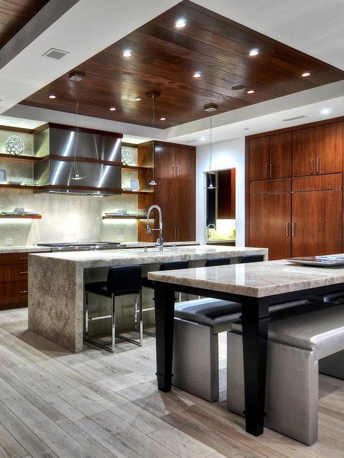 Wood kitchen ceiling home design ideas pictures remodel for Wood ceiling kitchen ideas