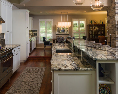 galley kitchen remodeling ideas azurite granite ideas pictures remodel and decor 3716