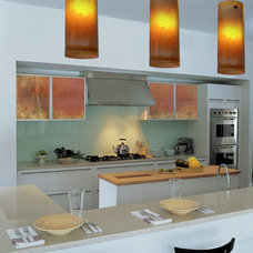 Traditional Kitchen by Galilee Lighting