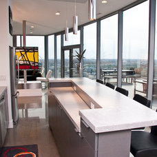 Contemporary Kitchen by Falcon Custom Homes
