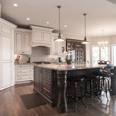 Transitional Kitchen by OK Woodcrafters Co.