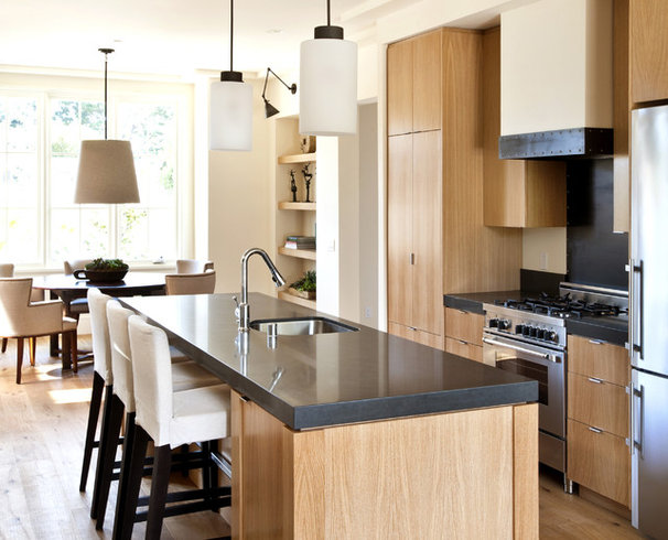 Contemporary Kitchen by Bernard Andre Photography