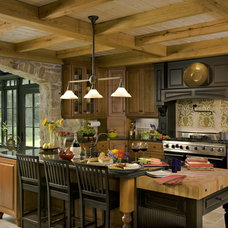 Traditional Kitchen by Boone Creek Cabinetry & Design