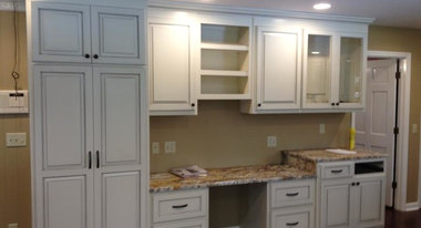 We are a locally owned Custom Cabinetry shop with over 50 years