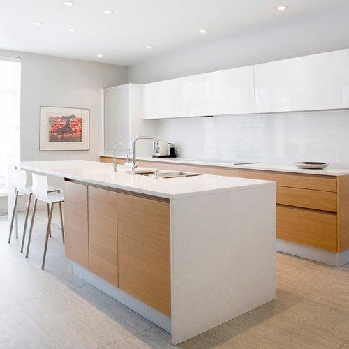 Modern galley kitchen design ideas remodel pictures houzz for Galley kitchen designs 2012