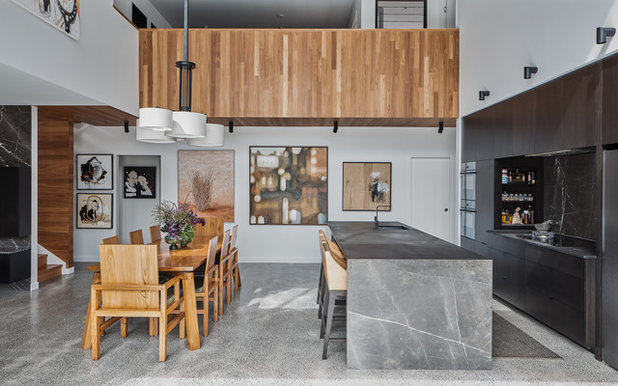 Contemporary Kitchen by Nick Tyson Architecture