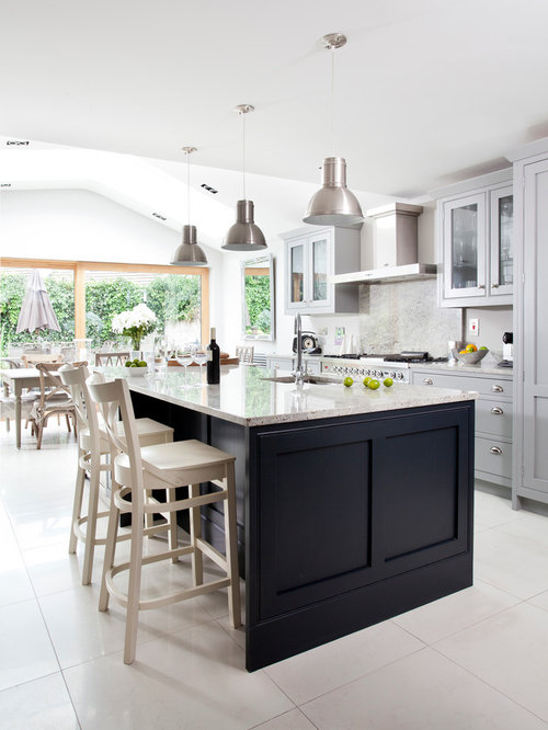 Dublin Kitchen Design Ideas Renovations Photos With Grey Splashback