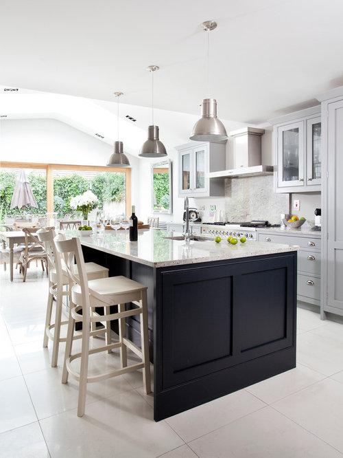 Dublin Kitchen Design Ideas Renovations Photos With Grey Splashback