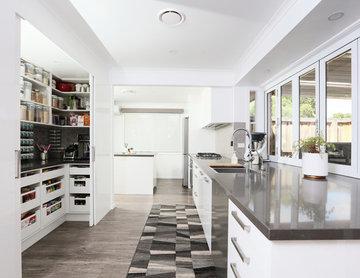 Galley Kitchen Alfresco feel