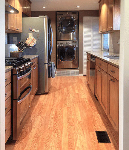 Galley Kitchen And Dining Remodel