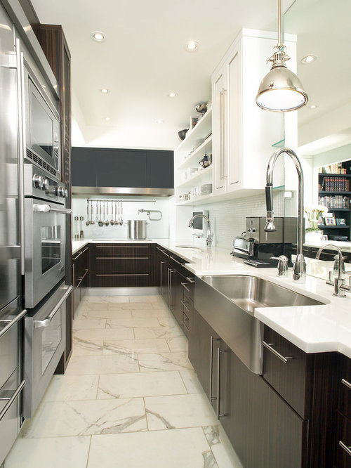 galley kitchen lighting houzz