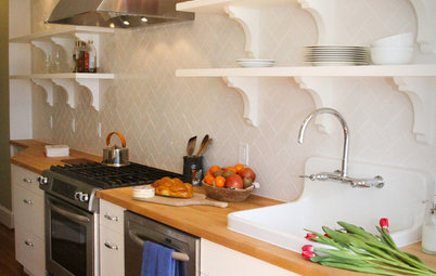 Kitchen of the Week: A D.C. Row House Honors Tradition