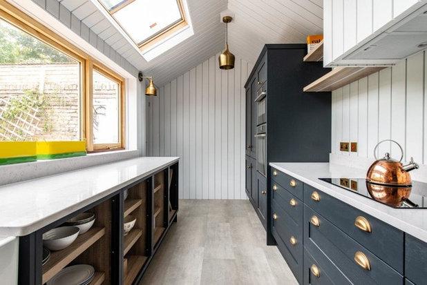 Transitional Kitchen by Herringbone Kitchens