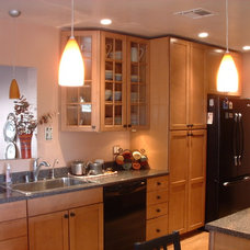 Contemporary Kitchen by Homework Remodels ~ Tri-Lite Builders
