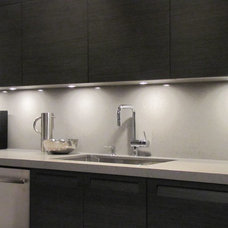 modern kitchen lighting and cabinet lighting by Modiani Kitchens