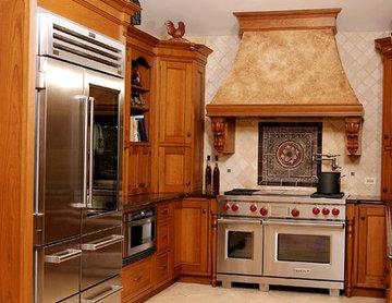 Galley Kitchen, Refrigerator