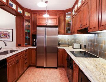 Galley Shaped Kitchen