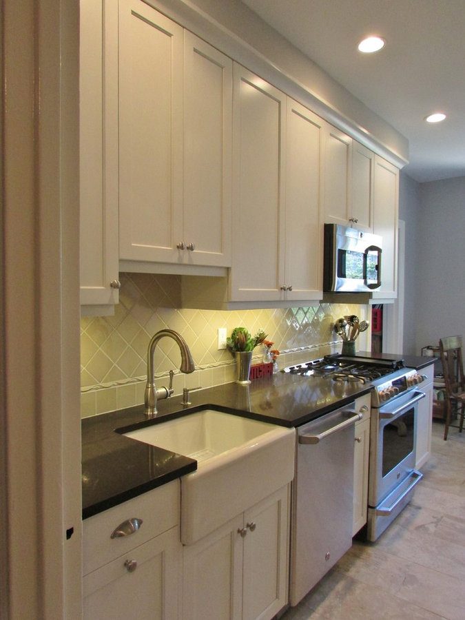 Galley-Style Apartment Kitchen