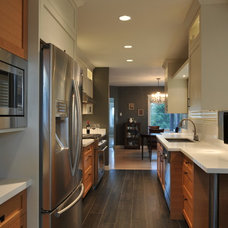 Transitional Kitchen by CCI Renovations