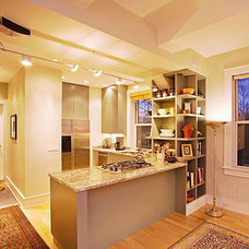 Contemporary Kitchen by Richard Pedranti Architect
