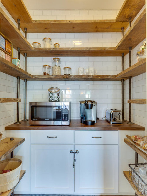 Best 15 Farmhouse Kitchen With Wood Countertops Ideas Amp Remodeling Pictures Houzz