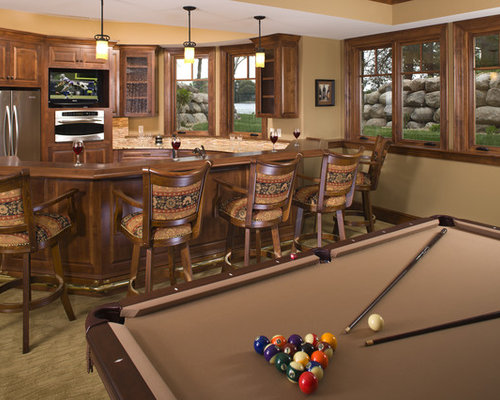 Basement Kitchen Bar Home Design Ideas Pictures Remodel