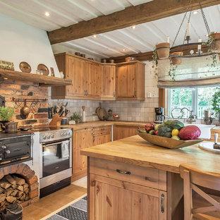 75 Beautiful Rustic Ceramic Tile Kitchen Pictures Ideas April 2021 Houzz