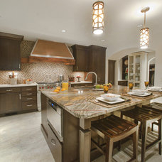 Traditional Kitchen by Haskell Interiors