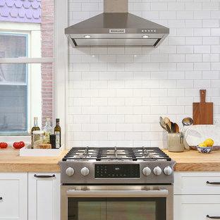 Garden Court, Philadelphia: Open Kitchen Concept with Breakfast Nook Addition