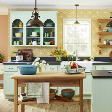 Eclectic Kitchen by Lowe's Home Improvement
