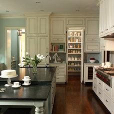 Traditional Kitchen by Rabaut Design Associates, Inc.