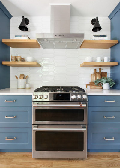 Transitional Kitchen by Amy Pearson Design