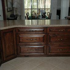 Traditional Kitchen by Monogram Interior Design LLC