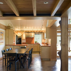 modern kitchen by Balance Associates Architects