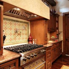 Mediterranean Kitchen by Brickmoon Design