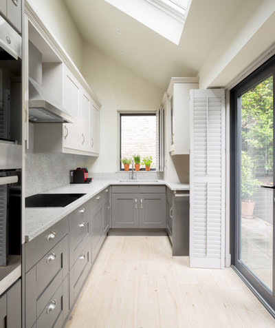 Transitional Kitchen by Stuart James Associates Limited