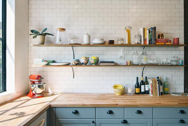 Industrial Kitchen by Pavonetti Architecture