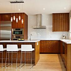 Contemporary Kitchen by Creative Millwork & Design ltd