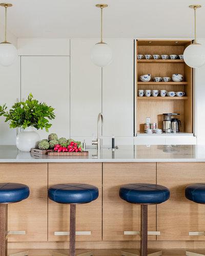 Contemporáneo Cocina by MANDARINA STUDIO interior design