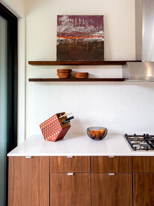 Daltile Esta Villa Kitchen Backsplash With Granite Countertop