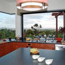 Contemporary Kitchen by debora carl landscape design