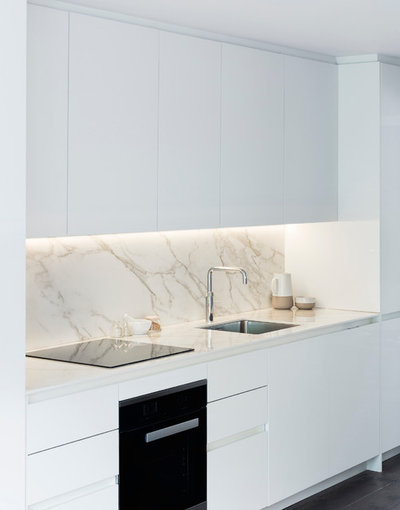 Contemporary Kitchen by Brosh Architects