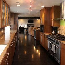 Modern Kitchen by Christy Branson