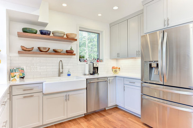 Transitional Kitchen by Alair Homes Arlington